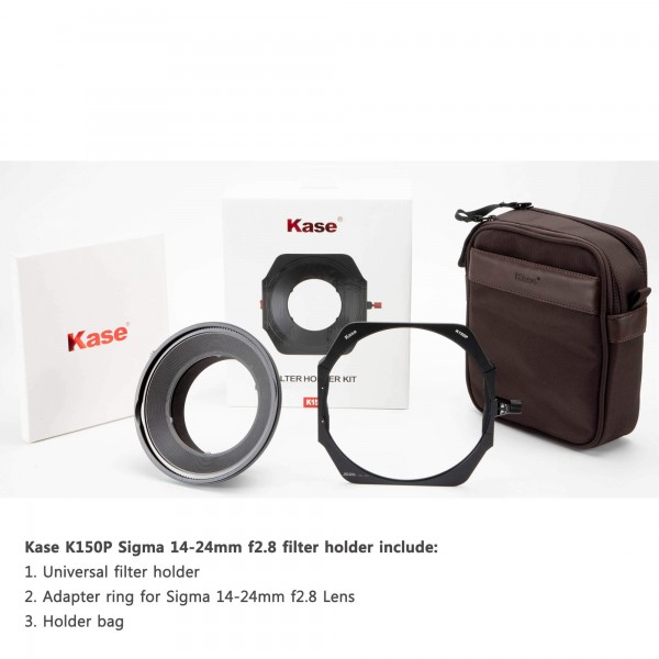 Kase K150P Filter Holder Kit for Sigma 14 F2.8 Sony Mount