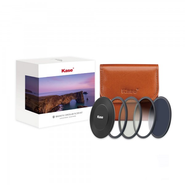 Kase ROUND Wolverine Magnetic Round Filter Set incl CPL ND1000 Soft GND 0.9