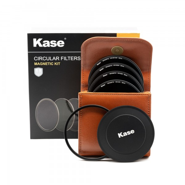 KaseFilters ROUND Wolverine Filter-Kit (CPL, ND8, ND64, ND1000)