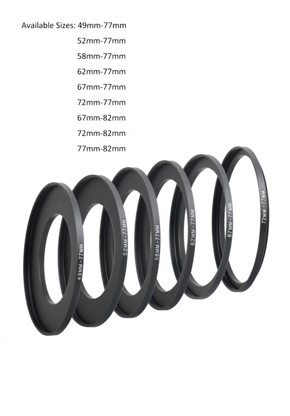 Kase Wolverine 72mm to 95mm Magnetic Step Up Filter Ring Adapter 72 95