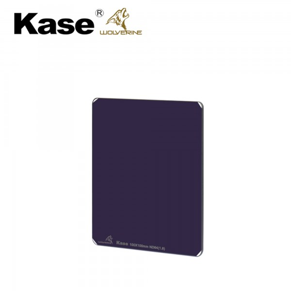 KaseFilters Wolverine K100 ND 64 / ND 1.8 (100x100mm)